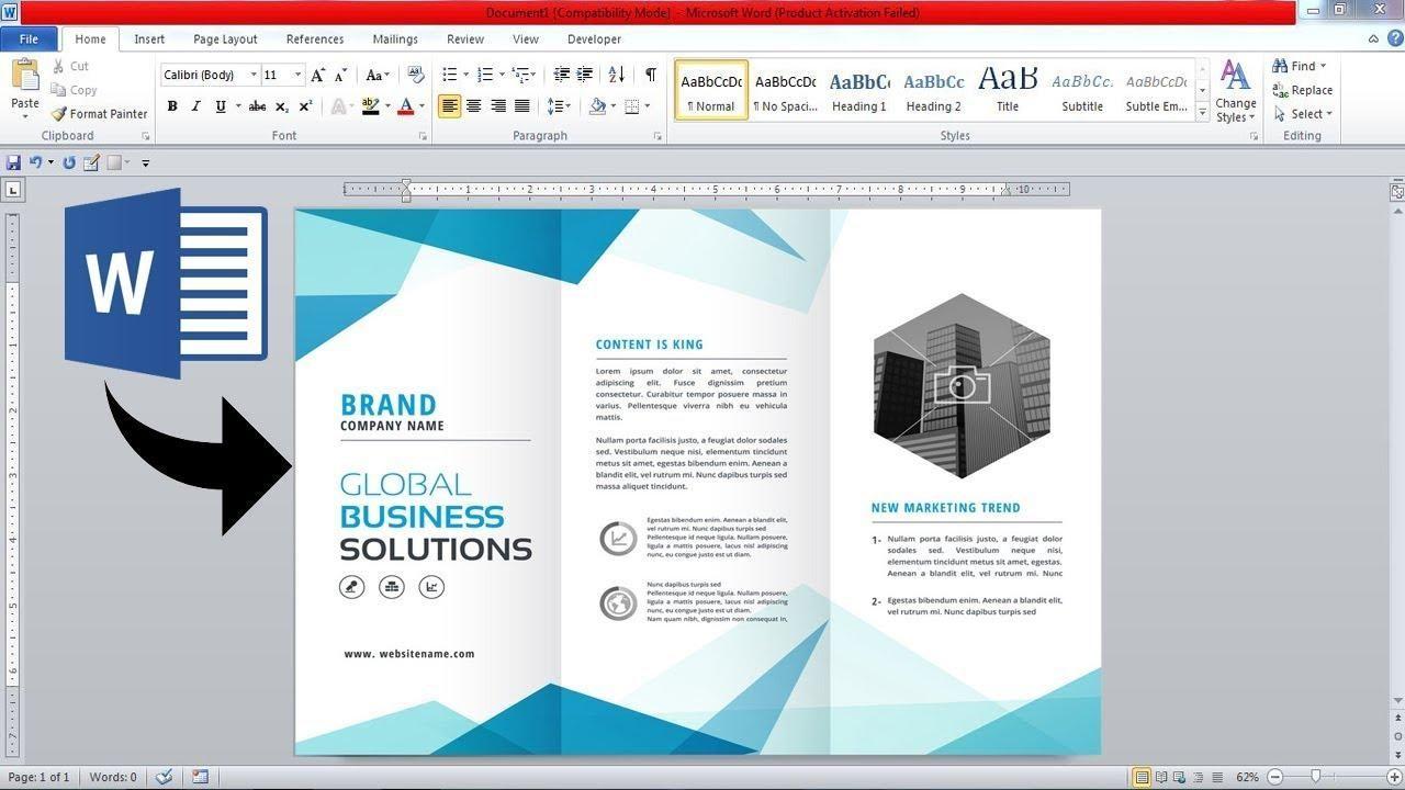 22 Best Free Brochure Templates for Google Docs & MS Word  Print Regarding Travel Brochure Template Google Docs